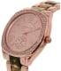 Michael Kors Women's Bryn MK6276 Tortoiseshell Stainless-Steel Quartz Watch - Side Image Swatch