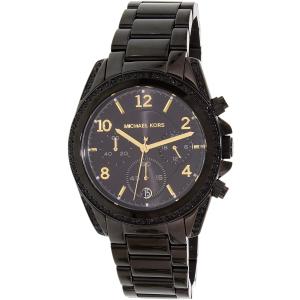 Michael Kors Women's Blair MK6283 Black Stainless-Steel Quartz Watch
