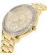 Michael Kors Women's Madelyn MK6287 Gold Stainless-Steel Quartz Watch - Side Image Swatch