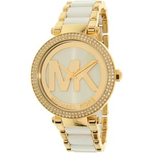 Michael Kors Women's Parker MK6313 Gold Stainless-Steel Quartz Watch