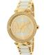 Michael Kors Women's Parker MK6313 Gold Stainless-Steel Quartz Watch - Main Image Swatch