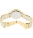 Michael Kors Women's Parker MK6313 Gold Stainless-Steel Quartz Watch - Back Image Swatch