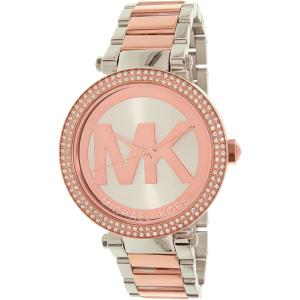 Michael Kors Women's Parker MK6314 Rose Gold Stainless-Steel Quartz Watch