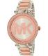 Michael Kors Women's Parker MK6314 Rose Gold Stainless-Steel Quartz Watch - Main Image Swatch