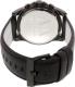 Armani Exchange Men's AX2507 Black Leather Quartz Watch - Back Image Swatch