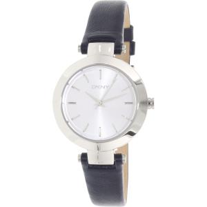 Dkny Women's Stanhope NY2412 Blue Leather Quartz Watch