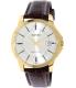 Casio Men's MTPV004GL-9A Brown Leather Quartz Watch - Main Image Swatch