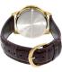 Casio Men's MTPV004GL-9A Brown Leather Quartz Watch - Back Image Swatch