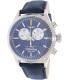 Timex Men's Heritage TW2P75400 Navy Suede Quartz Watch - Main Image Swatch