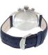 Timex Men's Heritage TW2P75400 Navy Suede Quartz Watch - Back Image Swatch