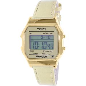 Timex Women's Heritage TW2P76900 Gold Leather Quartz Watch