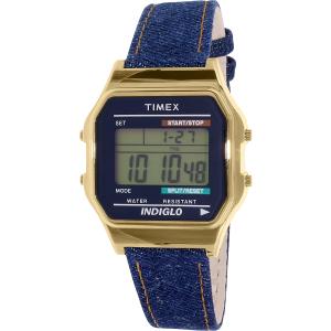 Timex Women's Heritage TW2P77000 Blue Leather Quartz Watch
