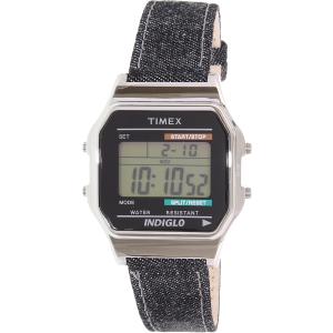 Timex Men's Heritage TW2P77100 Blue Leather Quartz Watch