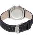 Timex Men's Heritage TW2P77100 Blue Leather Quartz Watch - Back Image Swatch