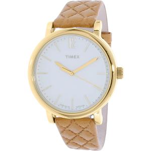 Timex Women's Heritage TW2P78400 Tan Leather Quartz Watch