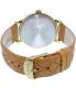 Timex Women's Heritage TW2P78400 Tan Leather Quartz Watch - Back Image Swatch