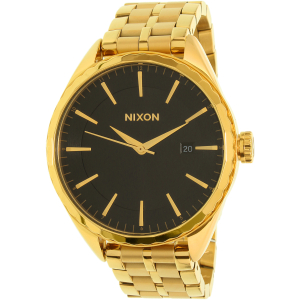 Nixon Men's Minx A9342042 Gold Stainless-Steel Quartz Watch