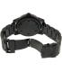 Nixon Men's Patriot A937001 Black Stainless-Steel Swiss Quartz Watch - Back Image Swatch