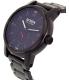 Nixon Men's Patriot A937001 Black Stainless-Steel Swiss Quartz Watch - Side Image Swatch