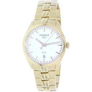 Tissot Men's T-Classic T101.410.33.031.00 Gold Stainless-Steel Swiss Quartz Watch