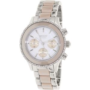 Dkny Women's Westside NY8824 Silver Stainless-Steel Quartz Watch