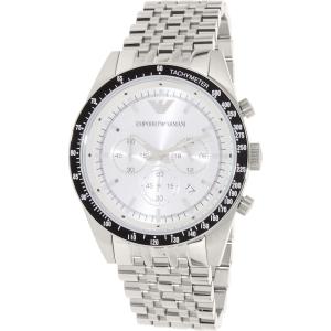 Emporio Armani Men's Sportivo AR6073 Silver Stainless-Steel Quartz Watch