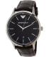 Emporio Armani Men's Renato AR2480 Brown Leather Quartz Watch - Main Image Swatch