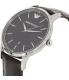 Emporio Armani Men's Renato AR2480 Brown Leather Quartz Watch - Side Image Swatch