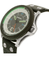 Diesel Men's Rollcage DZ1717 Black Leather Quartz Watch - Side Image Swatch