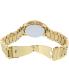 Michael Kors Women's Cooper MK6274 Gold Stainless-Steel Quartz Watch - Back Image Swatch