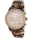 Michael Kors Women's Ritz MK6280 Brown Plastic Quartz Watch - Main Image Swatch