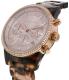 Michael Kors Women's Ritz MK6280 Brown Plastic Quartz Watch - Side Image Swatch