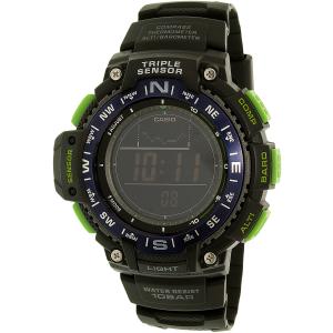 Casio Men's Sports SGW1000-2B Black Rubber Analog Quartz Watch
