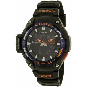 Casio Men's Sports SGW450H-2B Black Rubber Quartz Watch
