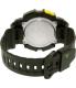Casio Men's Sports STLS110H-1C Black Rubber Quartz Watch - Back Image Swatch