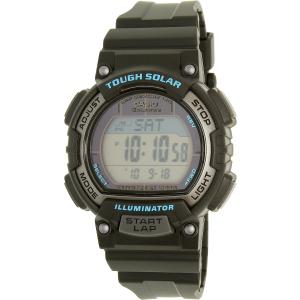 Casio Women's Sports STLS300H-1A Black Rubber Quartz Watch