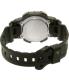 Casio Women's Sports STLS300H-1A Black Rubber Quartz Watch - Back Image Swatch