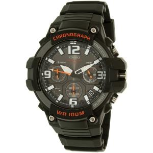 Casio Men's Sports MCW100H-1AV Black Plastic Quartz Watch