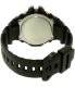 Casio Men's Sports MCW100H-1AV Black Plastic Quartz Watch - Back Image Swatch