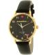 Kate Spade Women's Metro KSW1039 Black Leather Quartz Watch - Main Image Swatch