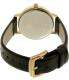 Kate Spade Women's Metro KSW1039 Black Leather Quartz Watch - Back Image Swatch