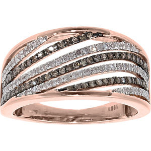 Exotic Identity Women's Chic Diamond Diamond Ring