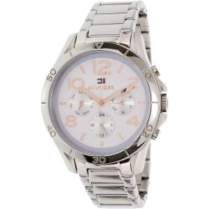 Tommy Hilfiger Women's 1781526 Silver Stainless-Steel Quartz Watch