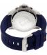 Tommy Hilfiger Men's 1791142 Blue Silicone Quartz Watch - Back Image Swatch