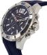 Tommy Hilfiger Men's 1791142 Blue Silicone Quartz Watch - Side Image Swatch