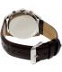 Tommy Hilfiger Men's 1791184 Silver Leather Quartz Watch - Back Image Swatch