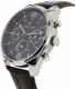 Tommy Hilfiger Men's 1791184 Silver Leather Quartz Watch - Side Image Swatch