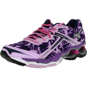 Mizuno Women's Wave Creation 15 Ankle-High Fabric Running Shoe