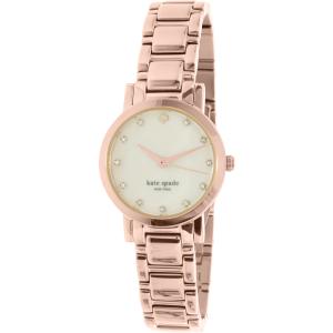 Kate Spade Women's Gramercy 1YRU0191 Rose Gold Stainless-Steel Quartz Watch