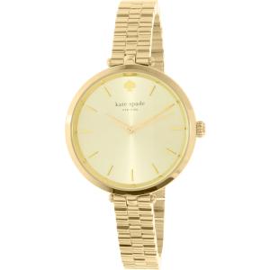 Kate Spade Women's Metro 1YRU0858 Gold Stainless-Steel Quartz Watch